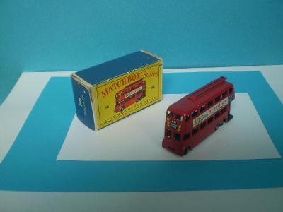 MATCHBOX - RW 48A LONDON TROLEY BUS