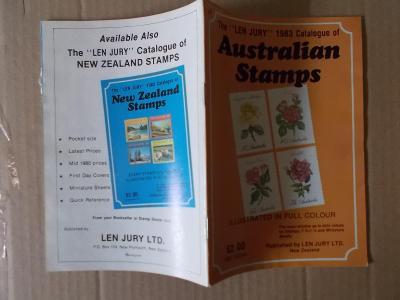 Katalog známek  barevný Austrálie  1913 - 1983