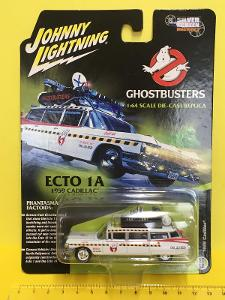 ECTO 1A - 1959 Cadillac Ghostbusters - Johnny Lightning (L6-gh1)