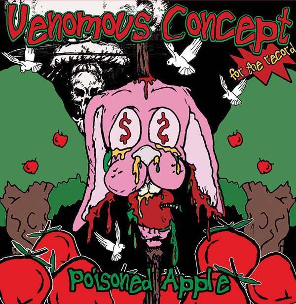 VENOMOUS CONCEPT - Poisoned Apple - LP ZELENY vinyl - Hudba