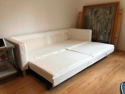 IKEA pohovka bílá 220x90cm (rozložitelná)