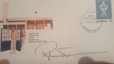 Roger Whittaker autogram