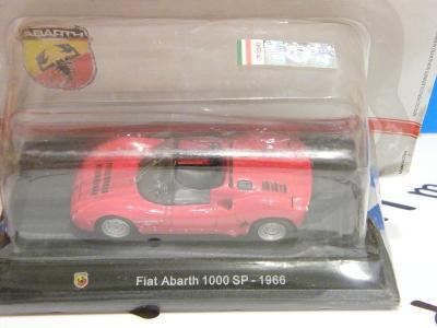 ABARTH  Fiat 1000 SP 1966  - HACHETTE 1:43