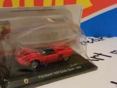 ABARTH  Fiat 1000 Spider Sport 1963  - HACHETTE 1:43