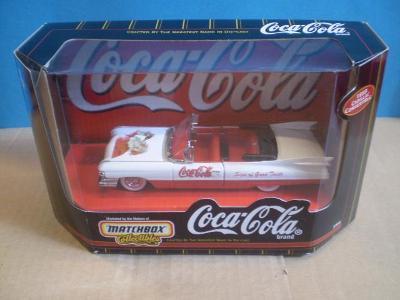 """MATCHBOX - 1959 CADILLAC  CONVERTIBLE """"COCA COLA"""