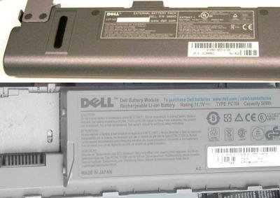 Originální baterie pro notebooky DELL starší řady Latitude