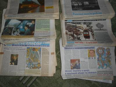 ŽELEZNIČÁŘ TÝDENÍK ČESKÝCH DRAH 1995 - 2008