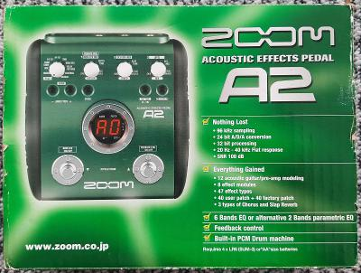 Zoom A2 - acoustic effects pedal