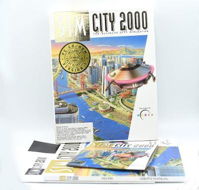 ***** Sim city 2000 ***** (PC) VELKÁ KRABICE