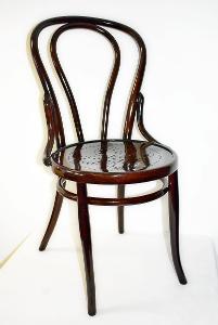 židle THONET Nr.18, po renovaci, cca 1900