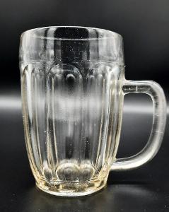 Velmi stará pivní sklenice - krygl - 0,5l
