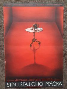 Filmový plakát A3 Stín létajícího ptáčka 2- Poláčková-Vyleťalová, Olga