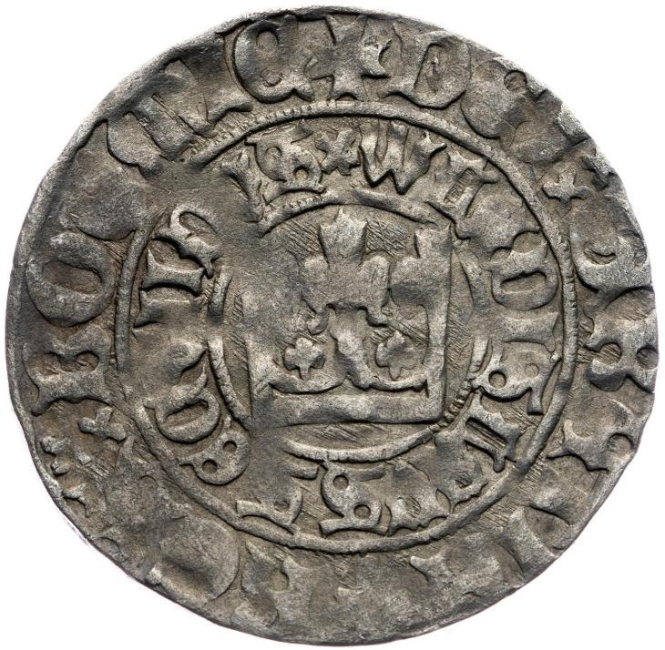 🔥 (G11) Vladislav II. Jagellonský - Pražský Groš - Numismatika