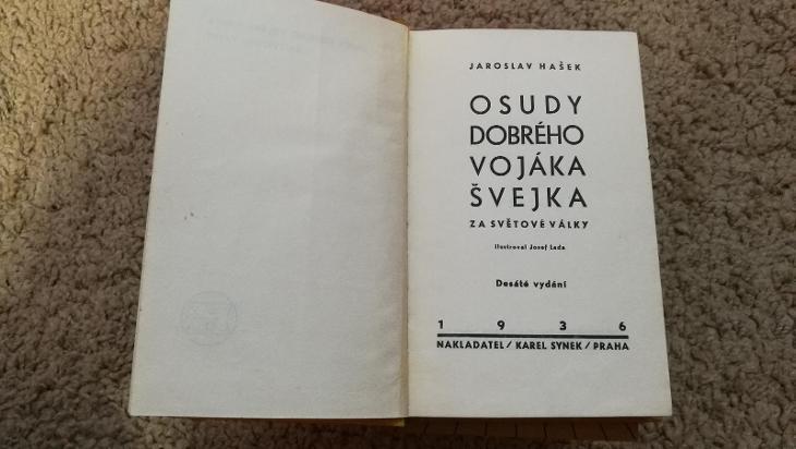 Osudy dobrého vojáka Švejka 6 dílů  - Knihy