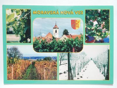 Moravská Nová Ves, Hodonín, Břeclav - vinohrady - ERB
