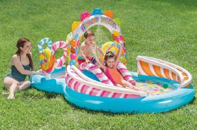 Nafukovací bazénové centrum Candy 295 x 191 x 130 cm