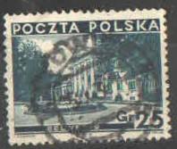 Polsko - Mi 305  - Belveder - razítko