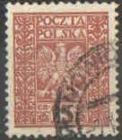Polsko - Mi 263 - Doplatní  - Polský znak
