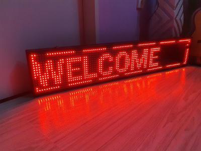 Programovatelná LED reklama - světelný panel s Wi-Fi komunikací 2199kč