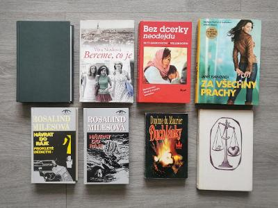 Mix 8 knih romany