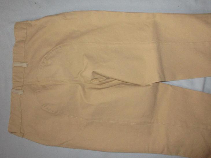 kalhoty  béžové jezdecké - Dámské oblečení