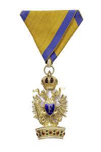 Řád železné koruny III. třída Franz Josef I.