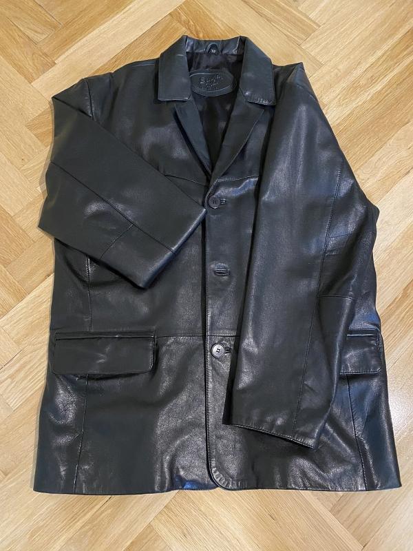 Pánské kožené sako Senza Max (vel. 52) - TOP STAV!!! - Pánské oblečení