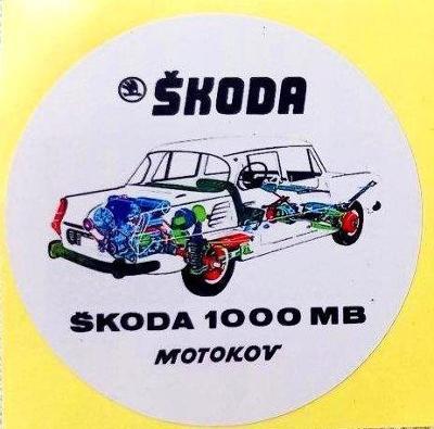 ŠKODA (Š1000, 1100, MB, MBX aj.) pr.7 dle foto (1x).