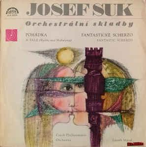 1968 Josef Suk (2), The Czech Philharmonic Orchestra, Zdeněk Mácal  NM