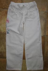 Dívčí lněné kalhoty zn.Autograph vel.116