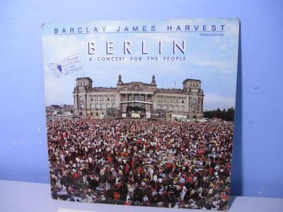 LP Barclay James Harvest - Berlin - A Concert For The People - HRANÁ