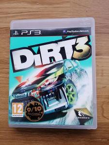 PS3 DIRT 3 SONY Playstation 3 závody na jedné konzoli ve dvou