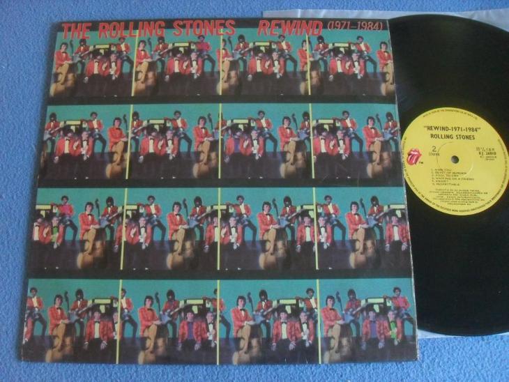 LP The Rolling Stones - Rewind - Hudba