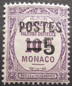 Monako 1937 Doplatní přetisk Mi# 149 0043
