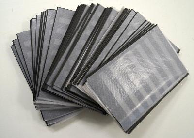 Výmětové albové listy (Papírny Brno), větší A4, prodej na kusy (6375)