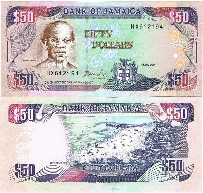 Jamajka 100 dol P-79 2004 UNC