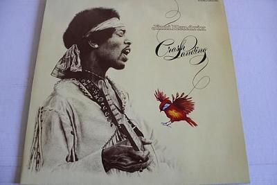 Jimi Hendrix – Crash Landing LP 1975 vinyl jako nove NM Psychedelic