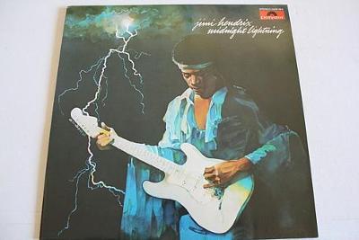 Jimi Hendrix Midnight Lightnin LP 1975 vinyl jako nove NM Psychedelic