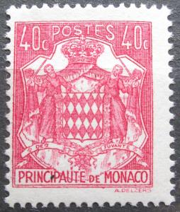Monako 1943 Státní znak Mi# 223 0046
