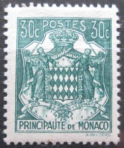 Monako 1943 Státní znak Mi# 222 0046