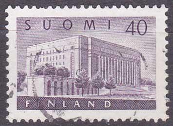 Finsko - parlament