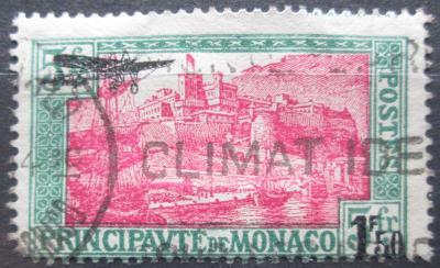 Monako 1933 Letecká přetisk Mi# 137 Kat 30€ 0047