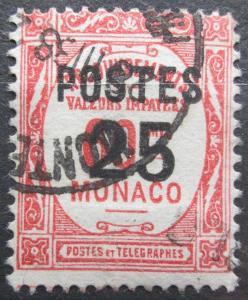 Monako 1937 Doplatní přetisk Mi# 153 0047