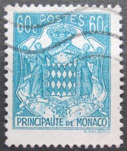 Monako 1943 Státní znak Mi# 226 0047