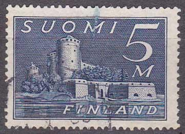 Finsko - hrad Olavinlinna
