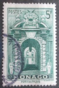 Monako 1943 Vchod do zámku Mi# 240 0047