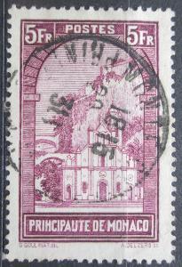 Monako 1933 Kostel Sainte-Dévote Mi# 134 Kat 25€ 0047