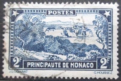 Monako 1933 Pohled na město Mi# 131 0047