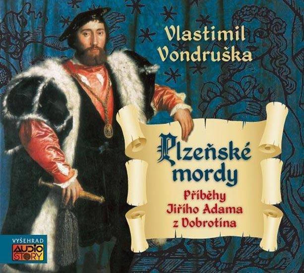 CD mp3 digipak Vlastimil Vondruška - Plzeňské mordy  (126 minut) - Hudba
