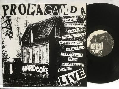 Various – Propaganda Live PUNK/ HARD CORE 2006 NM